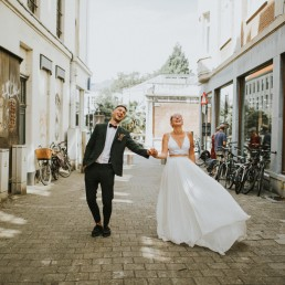 Lieselot en Nick trouwfeest Salon Weddings