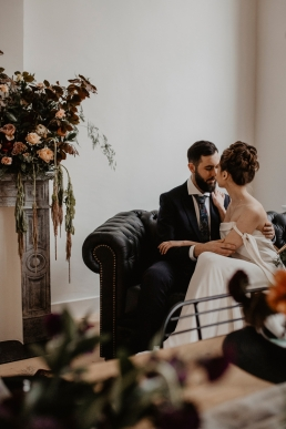 Styled shoot Salon Weddings Burgundy Feeling