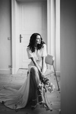 Styled shoot Salon Weddings simple elegance